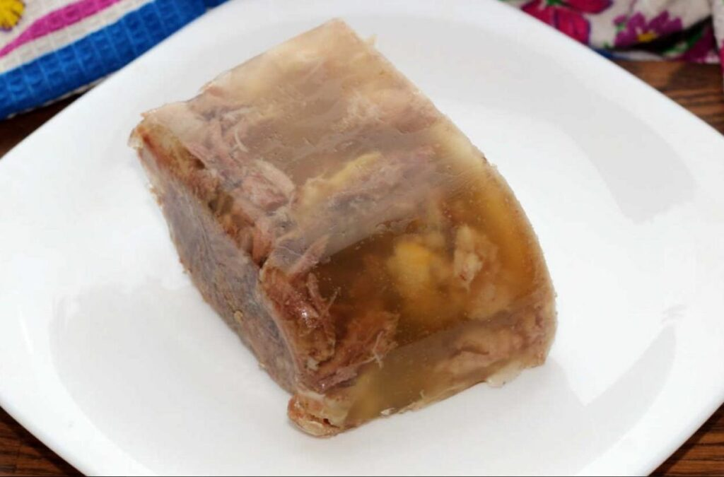 Weird food- Jellied Moose Nose