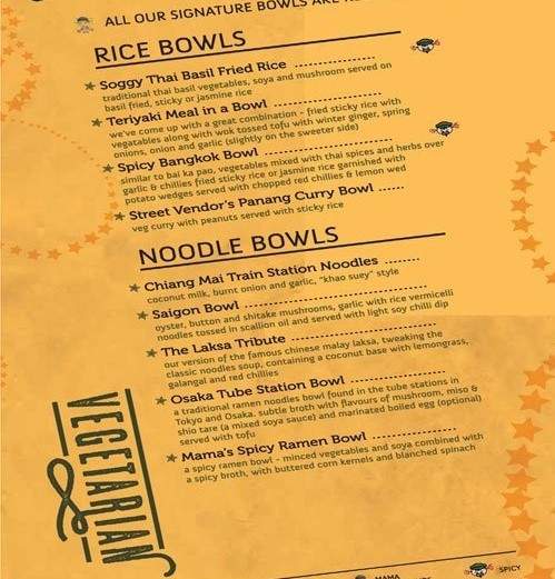 to become a smart diner understand menu card